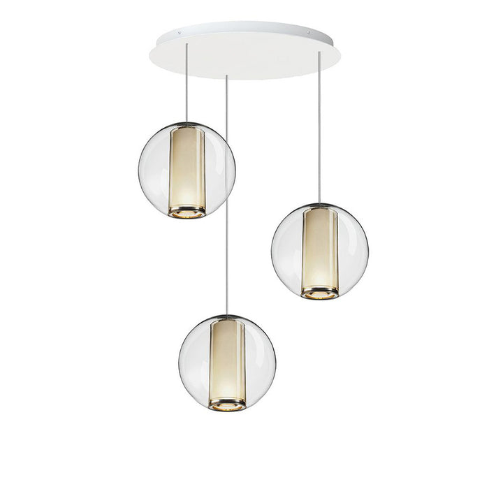 Buy online latest and high quality Bel Occhio 3 Chandelier from Pablo Designs | Modern Lighting + Decor