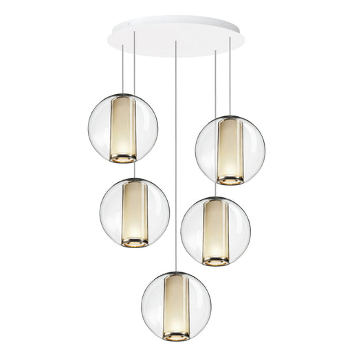 Buy online latest and high quality Bel Occhio 5 Chandelier from Pablo Designs | Modern Lighting + Decor