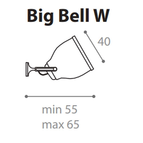 Buy online latest and high quality Big Bell W Wall Light from Anton Angeli | Modern Lighting + Decor
