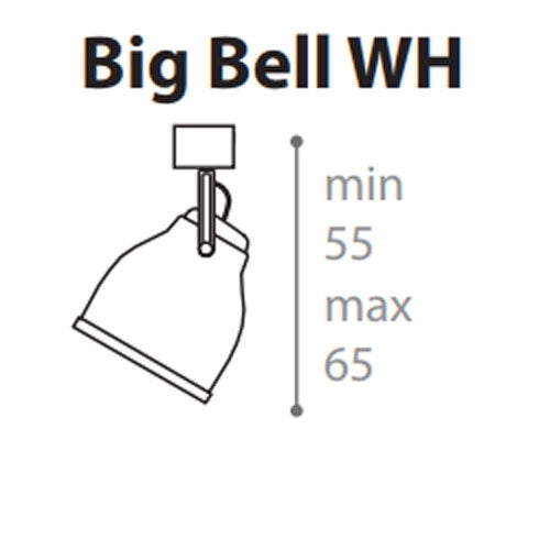 Big Bell WH Wall Light from Anton Angeli | Modern Lighting + Decor
