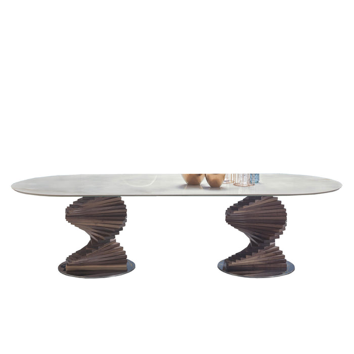 Buy online latest and high quality Big Firenze 94-inches Dining Table from Tonin Casa | Modern Lighting + Decor