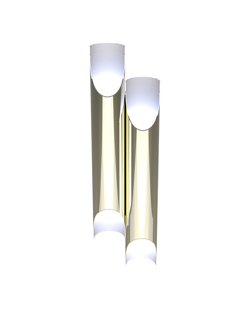 Galliano 3 Retro Tube Wall Sconce from Delightfull | Modern Lighting + Decor