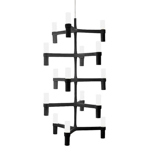 Crown Multi Chandelier from Nemo Italianaluce | Modern Lighting + Decor