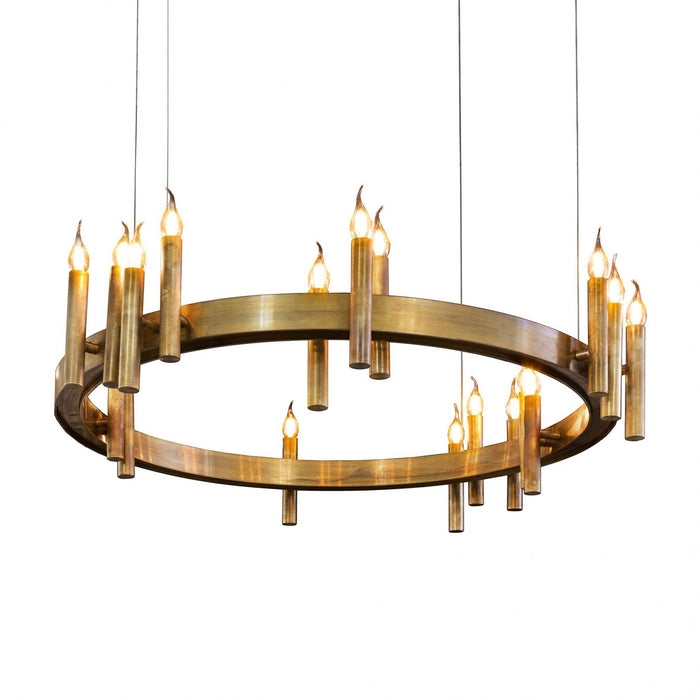 Buy online latest and high quality Shiro 18 Lights Pendant Light from Brand Van Egmond | Modern Lighting + Decor