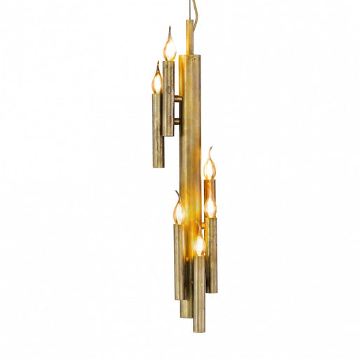 Shiro Vertical 6 Lights Pendant Light from Brand Van Egmond | Modern Lighting + Decor