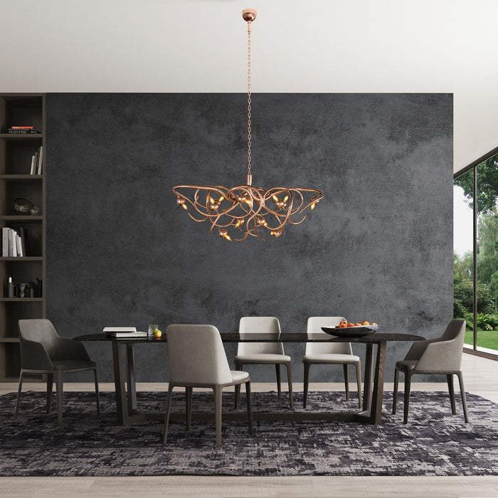 Eve 120 Oval Chandelier from Brand Van Egmond | Modern Lighting + Decor