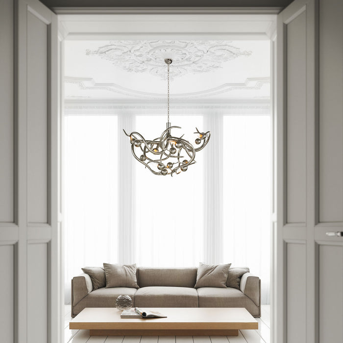 Buy online latest and high quality Eve 120 Round Chandelier from Brand Van Egmond | Modern Lighting + Decor
