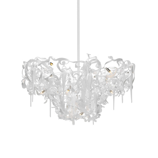 Flower Power Chandelier -  Round Upside Down from Brand Van Egmond | Modern Lighting + Decor