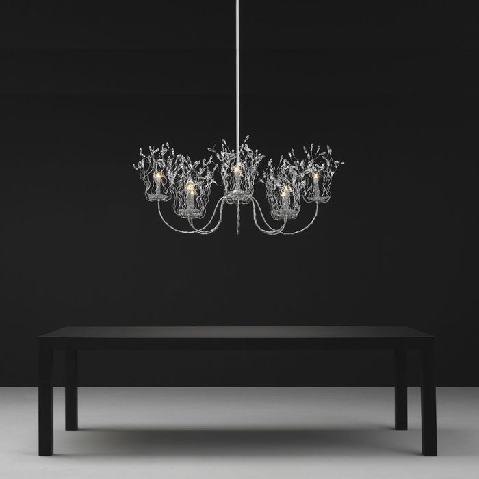 Candles And Spirits Chandelier - Oval from Brand Van Egmond | Modern Lighting + Decor