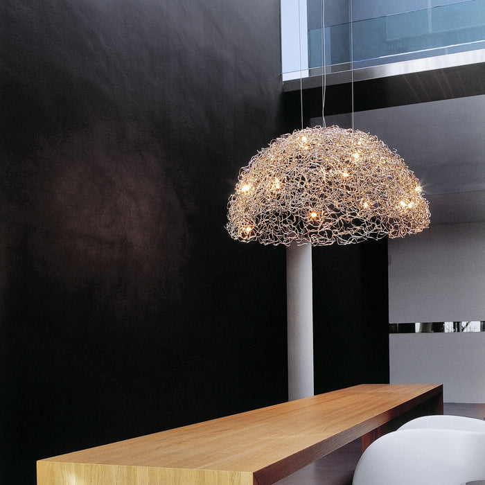 Crystal Waters Hood Chandelier from Brand Van Egmond | Modern Lighting + Decor