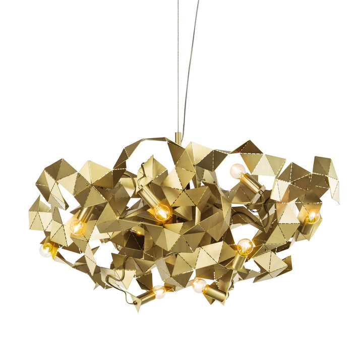 Buy online latest and high quality Fractal 80 Round Chandelier from Brand Van Egmond | Modern Lighting + Decor