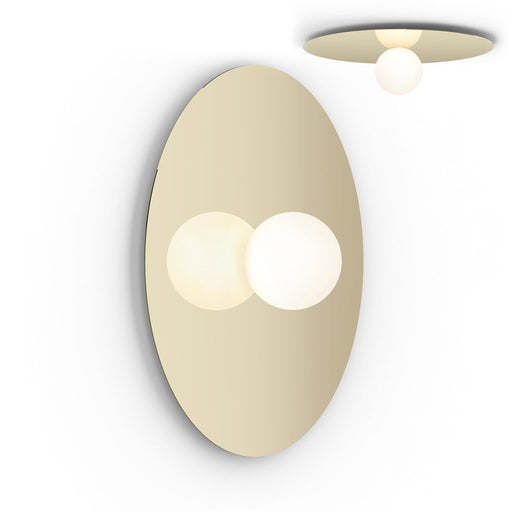 Bola Disc Flush Wall or Ceiling Light from Pablo Designs | Modern Lighting + Decor