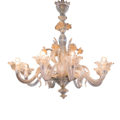 Burano Chandelier from Mazzega 1946 | Modern Lighting + Decor