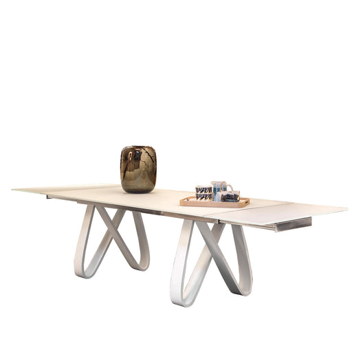 Buy online latest and high quality Butterfly 71-102 Inches Extendable DiningTable from Tonin Casa | Modern Lighting + Decor