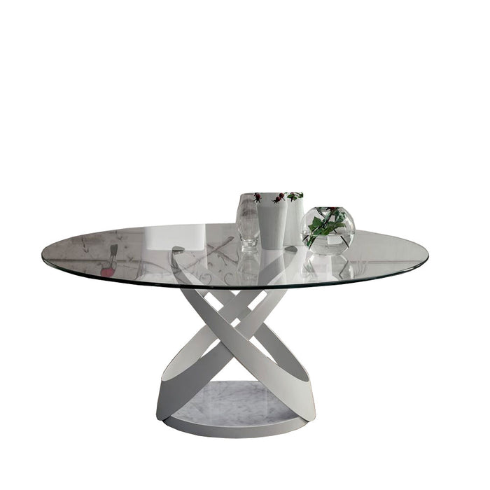 Capri Table, 55-in Round from Tonin Casa | Modern Lighting + Decor