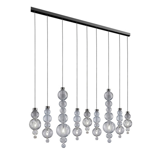 San Marco SO9 B Linear Suspension Light from EviStyle | Modern Lighting + Decor