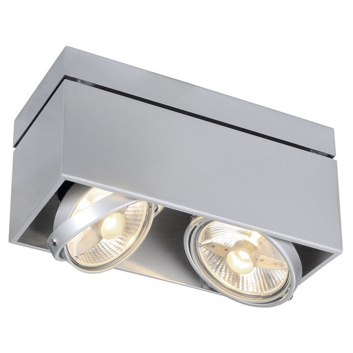 Buy online latest and high quality KARDAMOD grey, silver, 2-light sources Ceiling Light from SLV Lighting | Modern Lighting + Decor