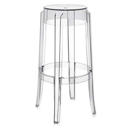 Charles Ghost Stool (Set of 2) from Kartell | Modern Lighting + Decor