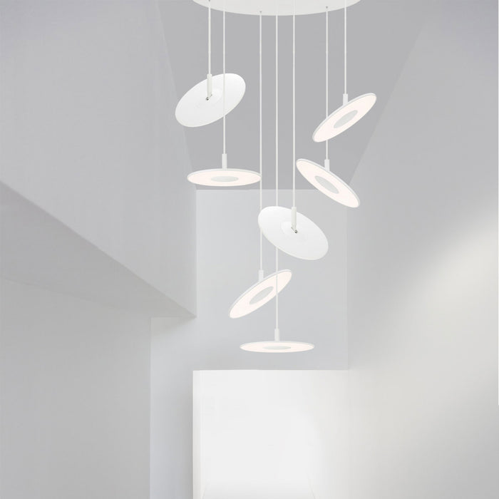 Buy online latest and high quality Circa 7 Chandelier from Pablo Designs | Modern Lighting + Decor