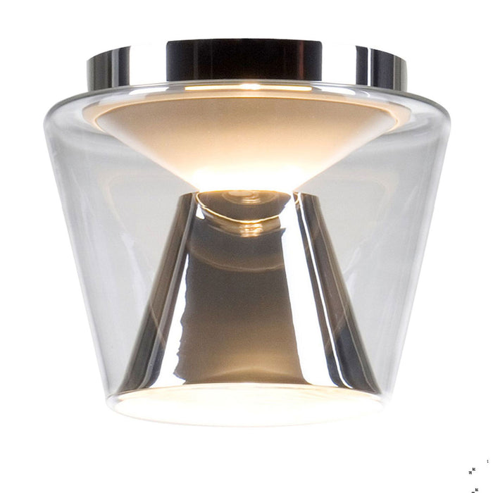 Annex M LED Ceiling Light - Chrome from Serien Lighting | Modern Lighting + Decor