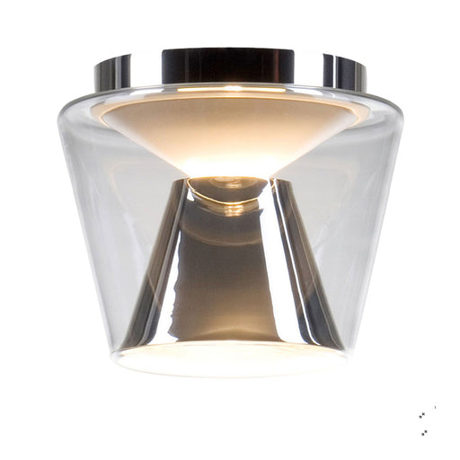 Annex S Chrome Ceiling Light from Serien Lighting | Modern Lighting + Decor
