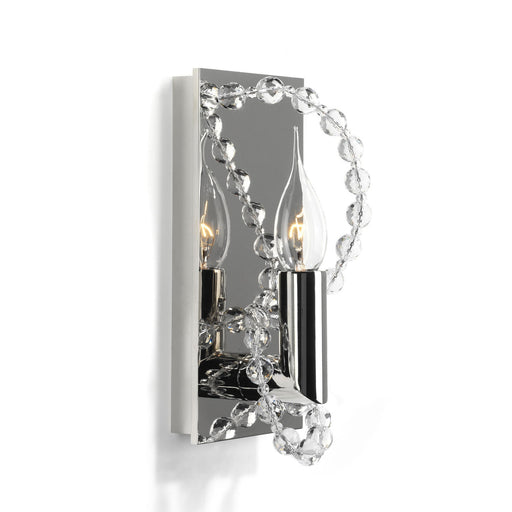 Coco Wall Sconce - Nickel Finish from Brand Van Egmond | Modern Lighting + Decor