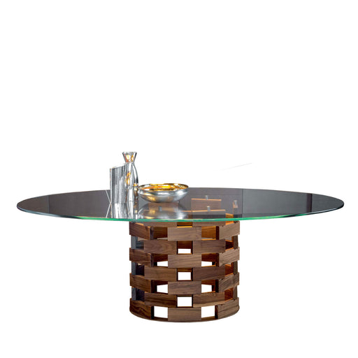 Buy online latest and high quality Colosseo Table, 55-in Round from Tonin Casa | Modern Lighting + Decor