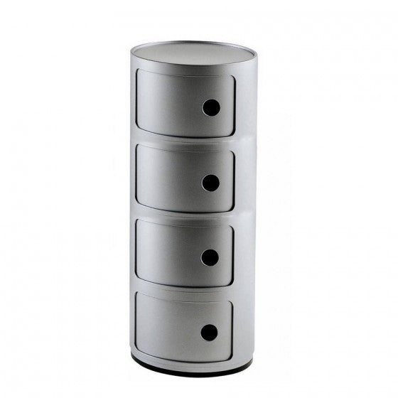 Componibili Round 4 Container from Kartell | Modern Lighting + Decor