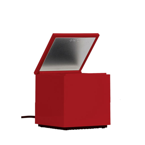 Cuboled Red Table Lamp from Cini & Nils | Modern Lighting + Decor