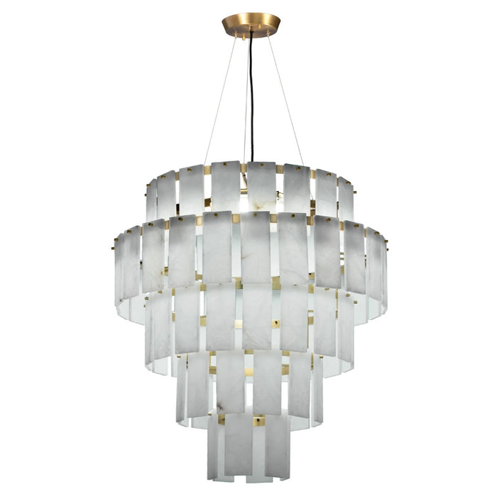 Buy online latest and high quality Quarz 30 Pendant Light - Alabaster from Fambuena | Modern Lighting + Decor