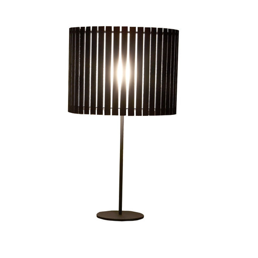 Buy online latest and high quality Luz Oculta Wood Table Lamp from Fambuena | Modern Lighting + Decor