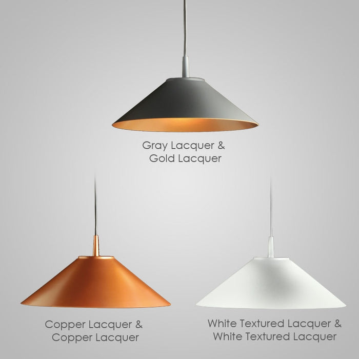 Buy online latest and high quality Hat LED Pendant Light from Milan by Zaneen | Modern Lighting + Decor