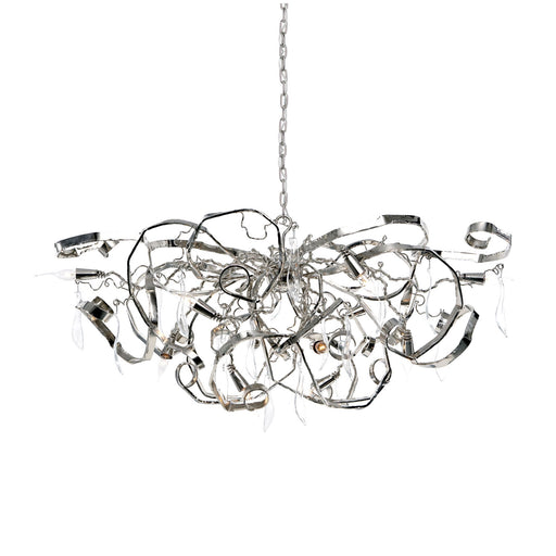 Buy online latest and high quality Delphinium Chandelier - Oval from Brand Van Egmond | Modern Lighting + Decor