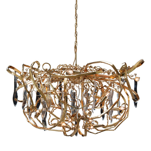 Delphinium 120 Chandelier - Round from Brand Van Egmond | Modern Lighting + Decor