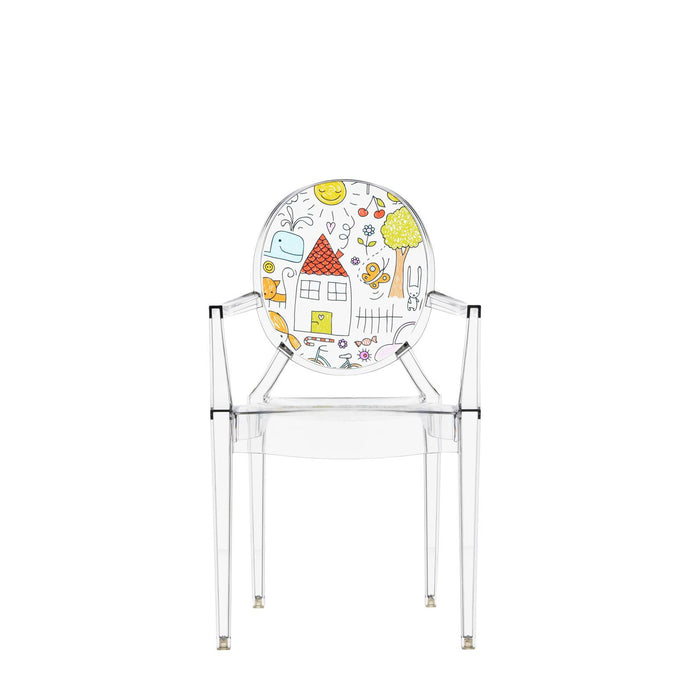 Buy online latest and high quality Lou Lou Ghost Special Edition Children's Chair from Kartell | Modern Lighting + Decor