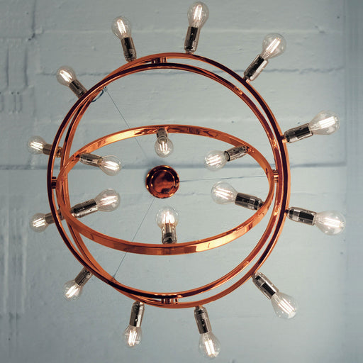 Dione Chandelier - Copper from Licht im Raum | Modern Lighting + Decor