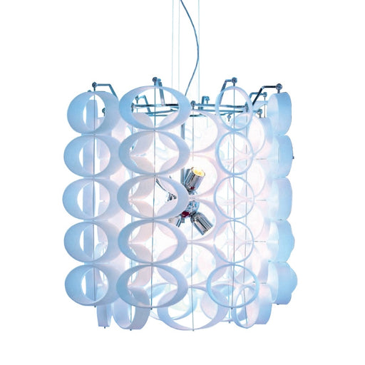 Disk Chandelier from Mazzega 1946 | Modern Lighting + Decor