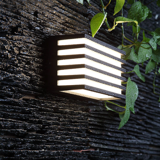 Vesa LED Outdoor Wall Light from Interior Deluxe | Modern Lighting + Decor
