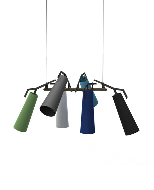 La Grande 6 Pendant Light from Anthologie Quartett | Modern Lighting + Decor