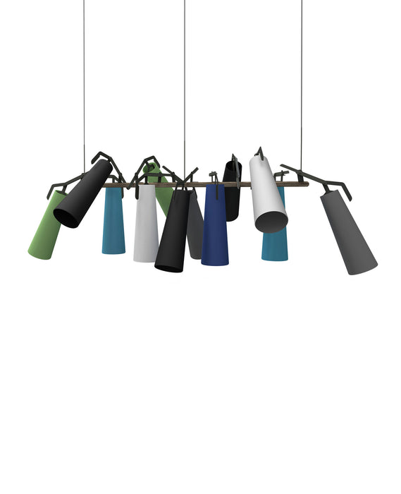 La Grande 12 Pendant Light from Anthologie Quartett | Modern Lighting + Decor