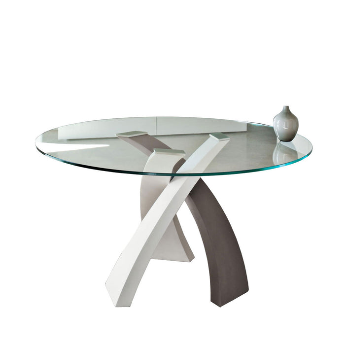 Buy online latest and high quality Eliseo 47-Inch Round Table from Tonin Casa | Modern Lighting + Decor