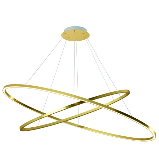 Buy online latest and high quality Ellisse Double LED Suspension Light from Nemo Italianaluce | Modern Lighting + Decor