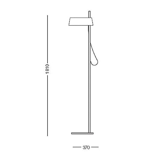 Buy online latest and high quality Ella Floor lamp from Anta | Modern Lighting + Decor