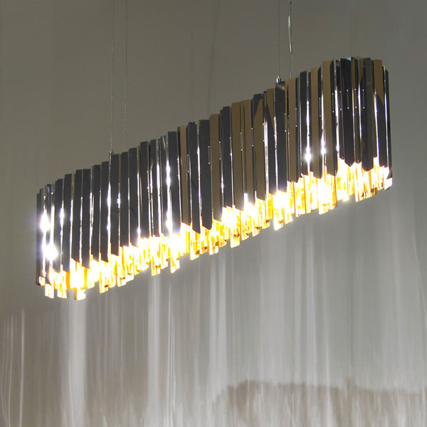 Facet Lozenge Suspension | Modern Lighting + Decor