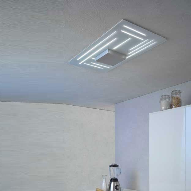 Fine Rectangular Ceiling Light from Escale | Modern Lighting + Decor