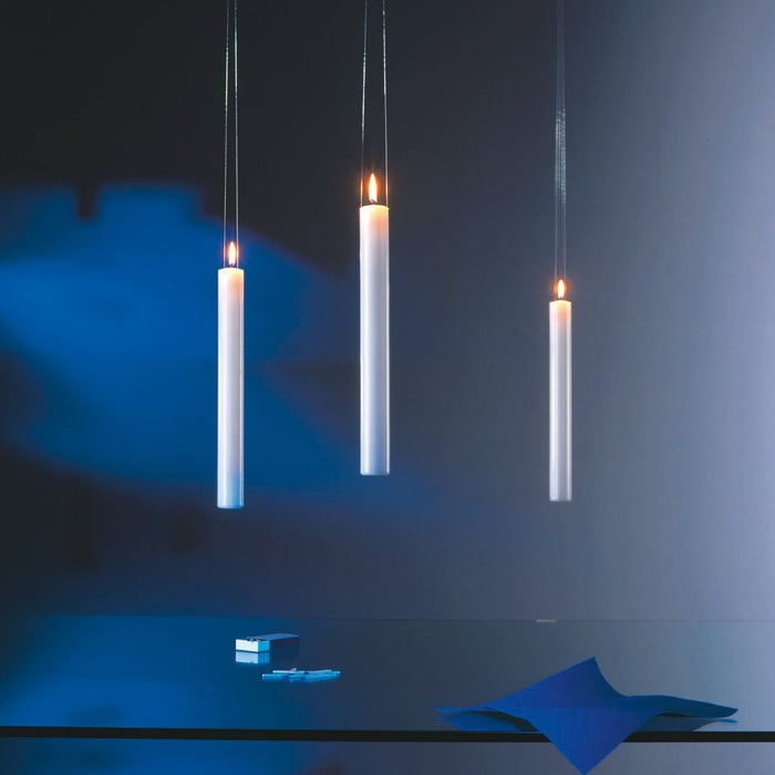 Fly Candle Fly! Suspended Candle from Ingo Maurer | Modern Lighting + Decor