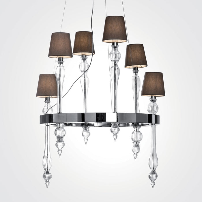 Buy online latest and high quality Fosfato FOSSOVVC06 Chandelier from Mazzega 1946 | Modern Lighting + Decor
