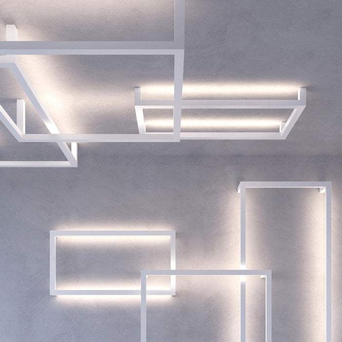 Framework P LED Wall/Ceiling Lamp from Axo | Modern Lighting + Decor
