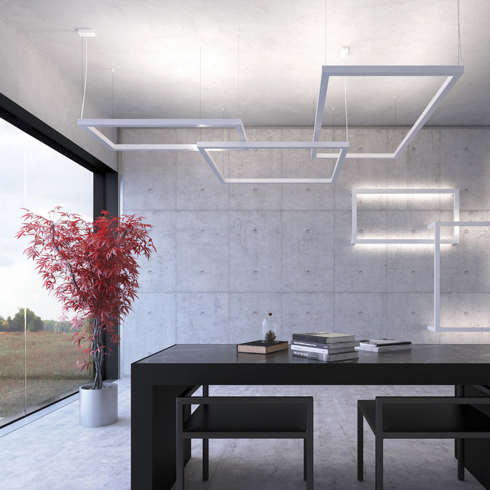 Framework M LED Pendant Lamp from Axo | Modern Lighting + Decor