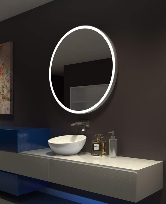 Lighted Mirror Galaxy 40 X 40 In from Paris Mirror | Modern Lighting + Decor